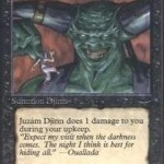 Juzam Djinn: 5/5 with a Vengeance – RareMTGCards.com