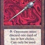 Disrupting Scepter: Force Your Enemy to Discard