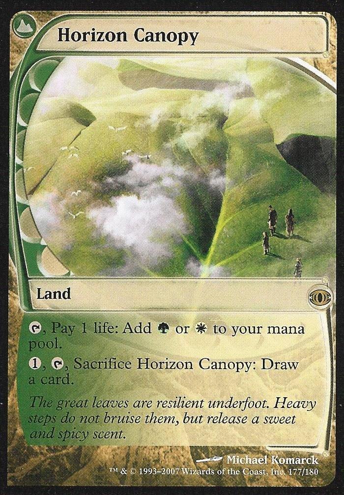 Horizon Canopy Dual Land Rare Mtg Cards