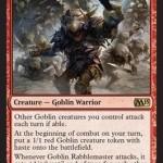 Goblin Rabblemaster: Recruiter of Fearless Goblin Infantry