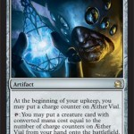 AEther Vial: The Latest MTG Creature Summoning Technology