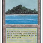Tropical Island MTG: Forests on an Island
