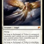 Archangel of Tithes: Restrict Enemy Combat