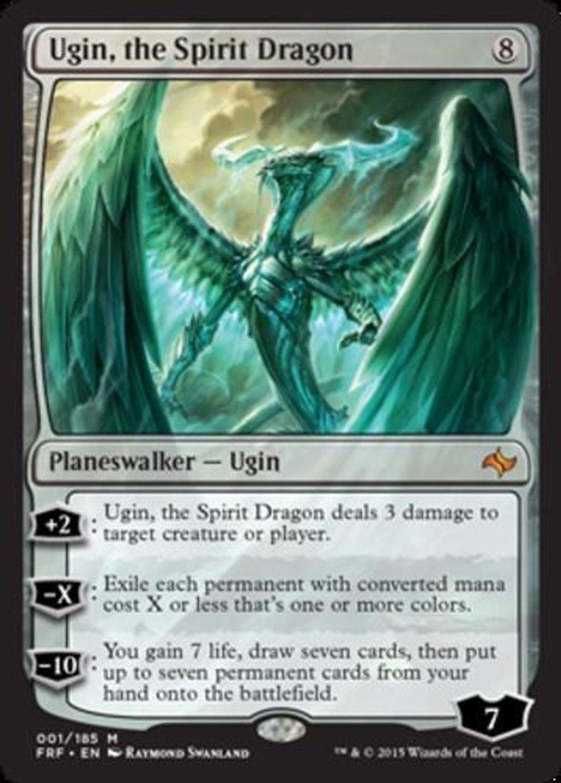 ugin dragon spirit planeswalker colorless