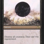 Damnation MTG Card: Destroy ALL Creatures!